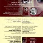 "Bedah buku Novel ""GIDHER"""